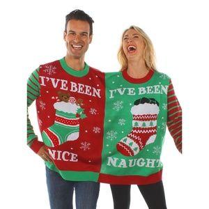 Tipsy Elves Naughty & Nice Ugly Christmas Sweater